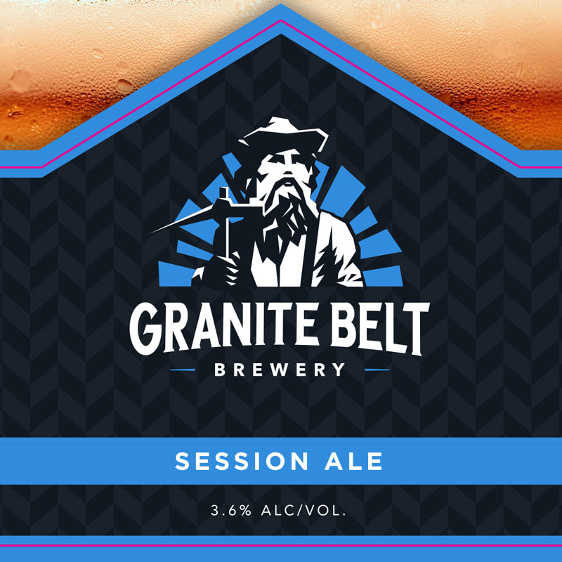 Session Ale by Granite Belt Brewery